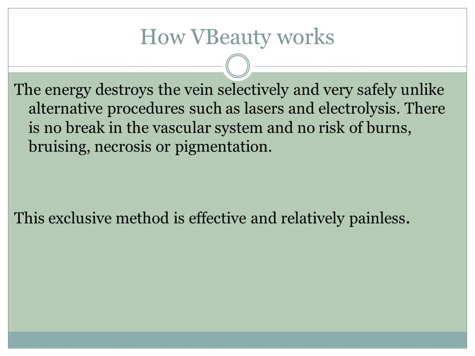 How VBeauty works