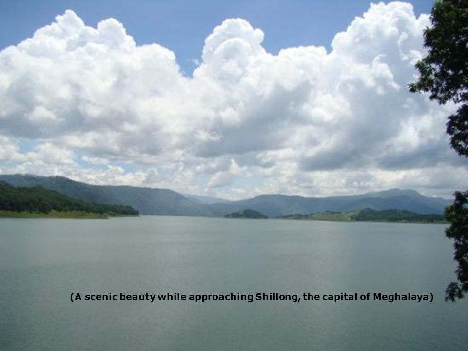 (A scenic beauty while approaching Shillong, the capital of Meghalaya)