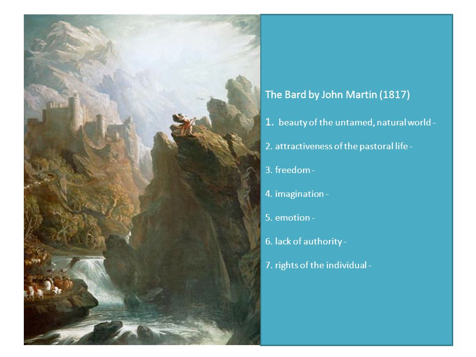 The Bard by John Martin (1817) 1