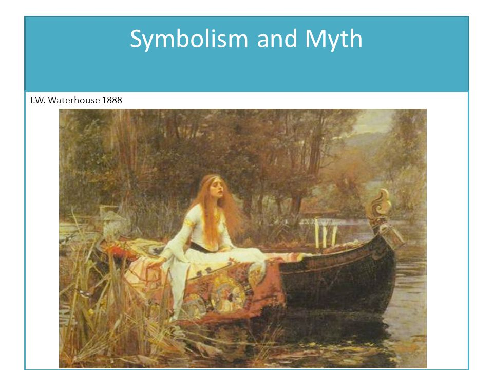 Symbolism and Myth J.W. Waterhouse 1888