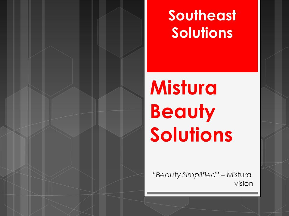 Mistura Beauty Solutions