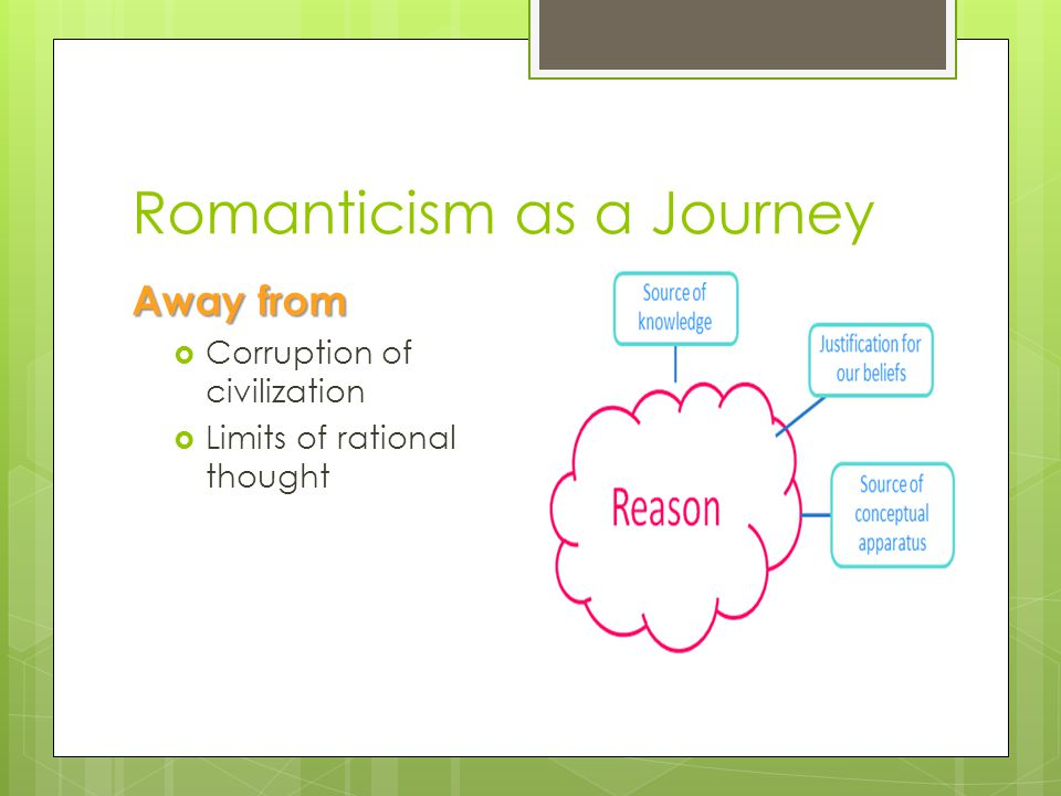 Romanticism as a Journey
