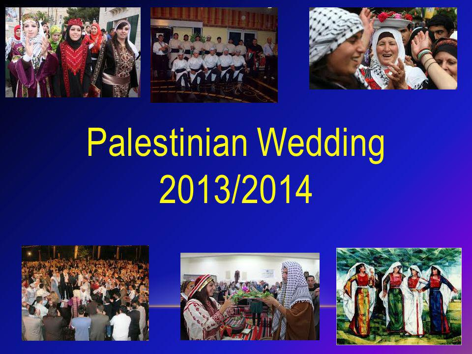 Palestinian Wedding 2013/2014
