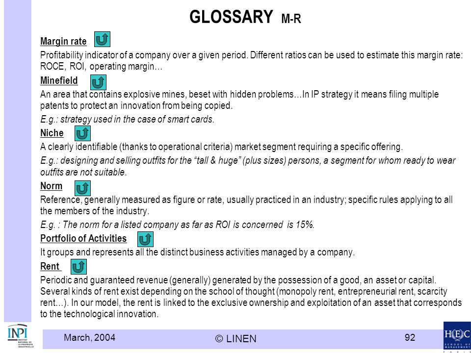 GLOSSARY M-R Margin rate