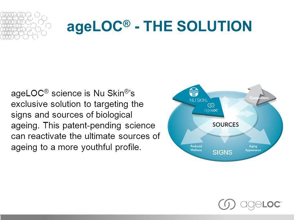 ageLOC® - The Solution