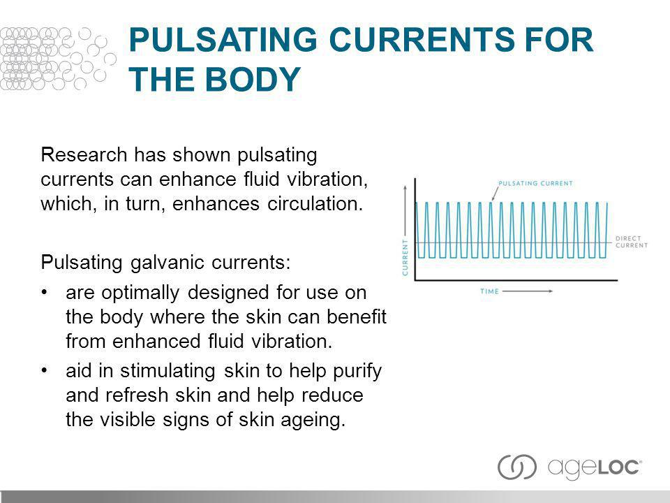 Pulsating Currents for the Body