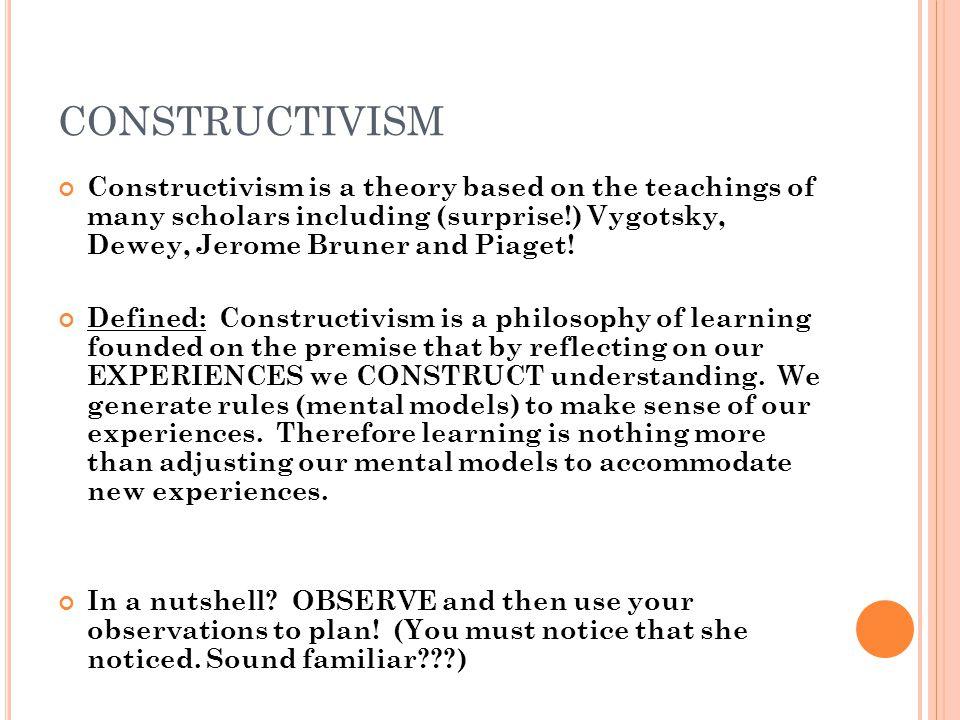 Dissertation on constructivism