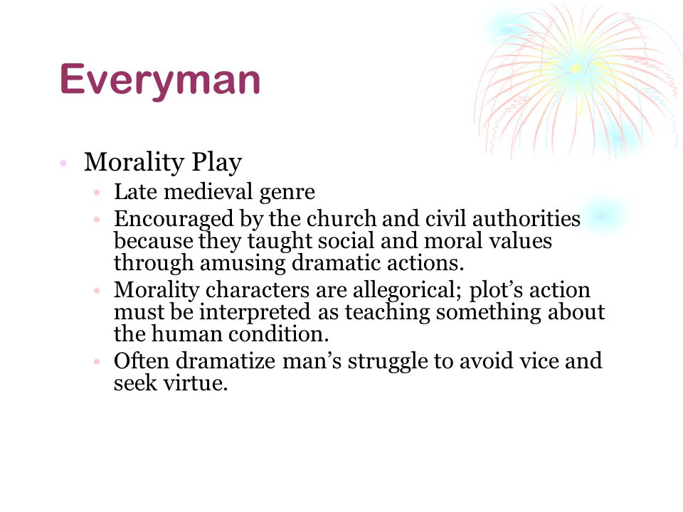 what is the theme of everyman