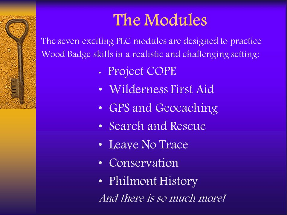 The Modules Wilderness First Aid GPS and Geocaching Search and Rescue