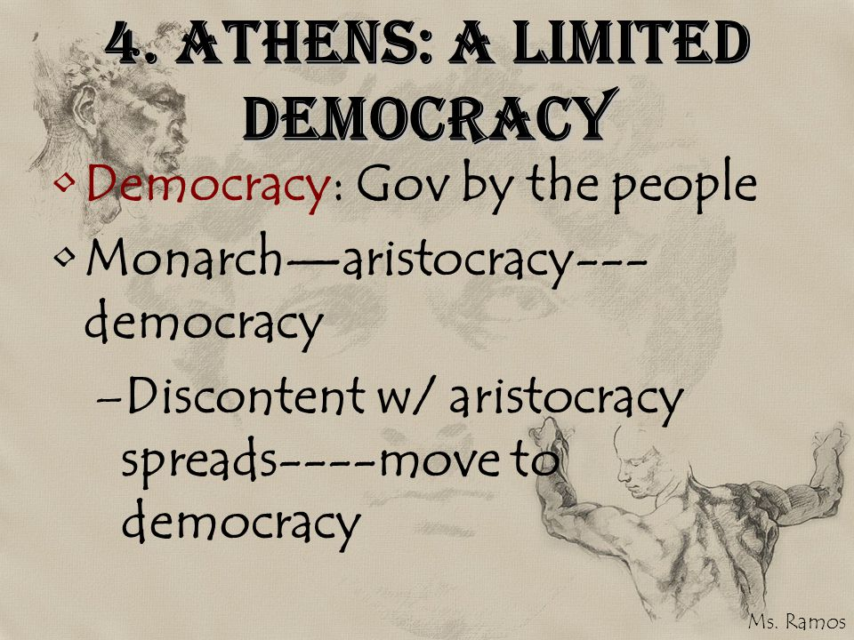 4. Athens: A Limited Democracy