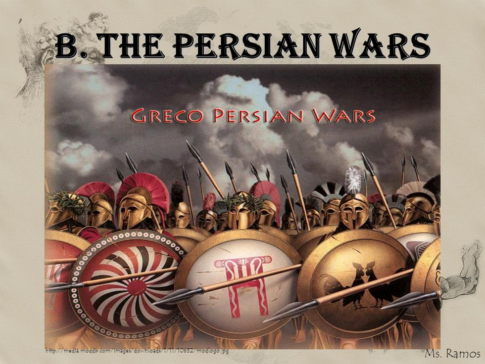 B. The Persian Wars Ms. Ramos