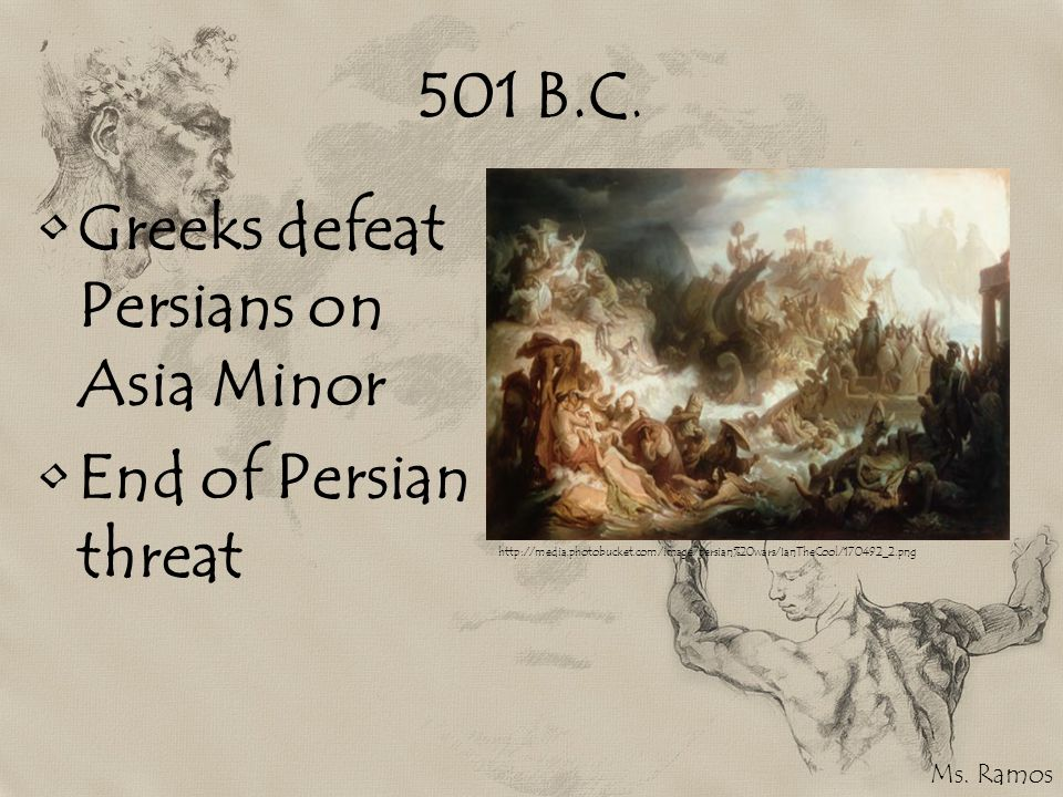 Greeks defeat Persians on Asia Minor