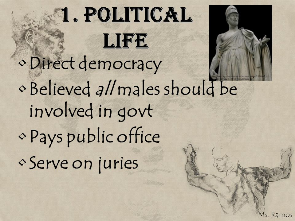 1. Political Life Direct democracy