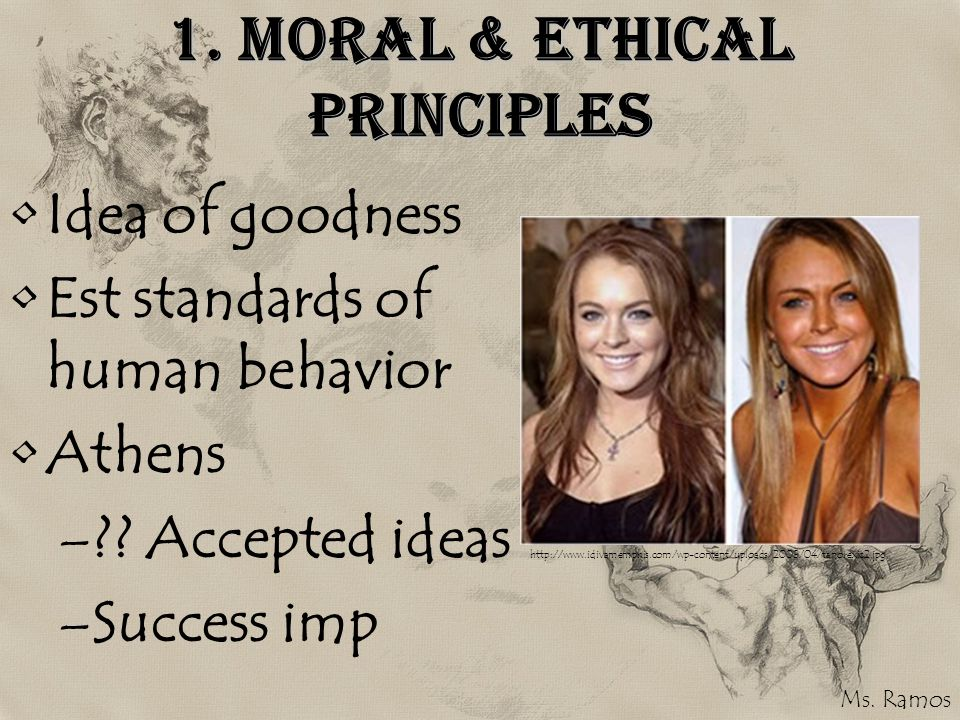 1. Moral & Ethical Principles