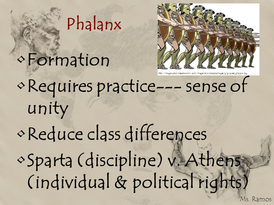 Requires practice--- sense of unity Reduce class differences