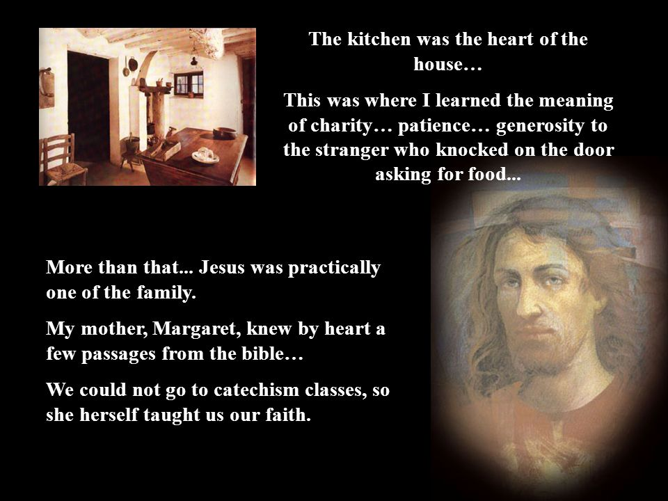 The kitchen was the heart of the house…