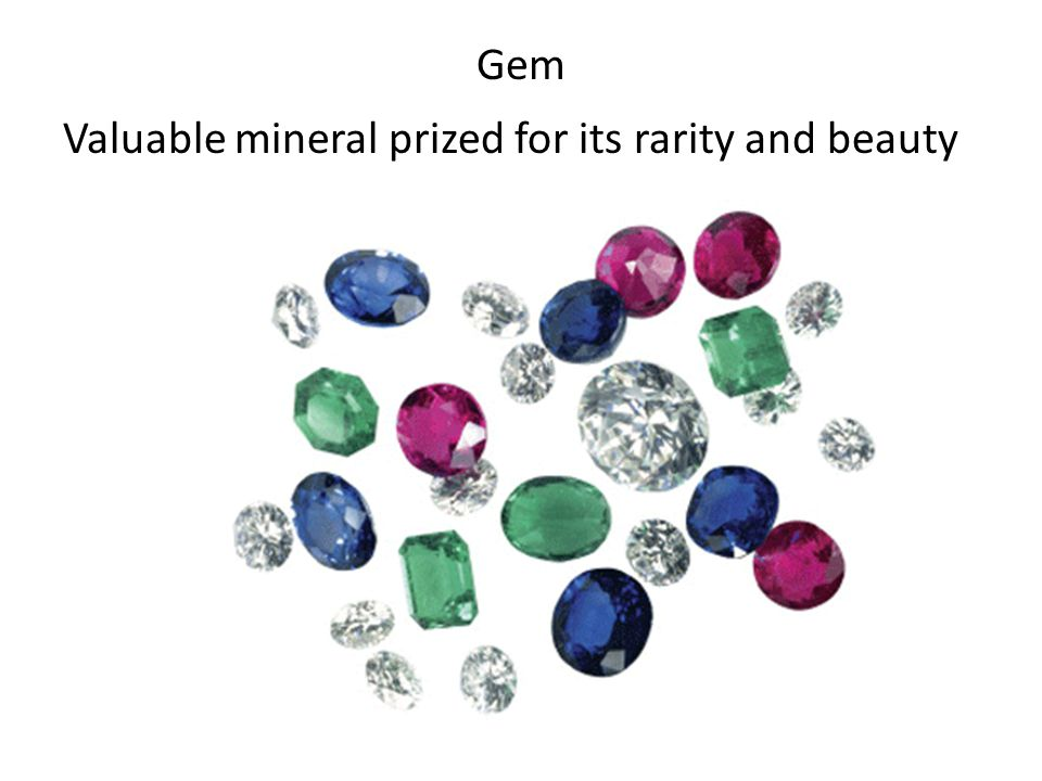 Gem Valuable mineral prized for its rarity and beauty