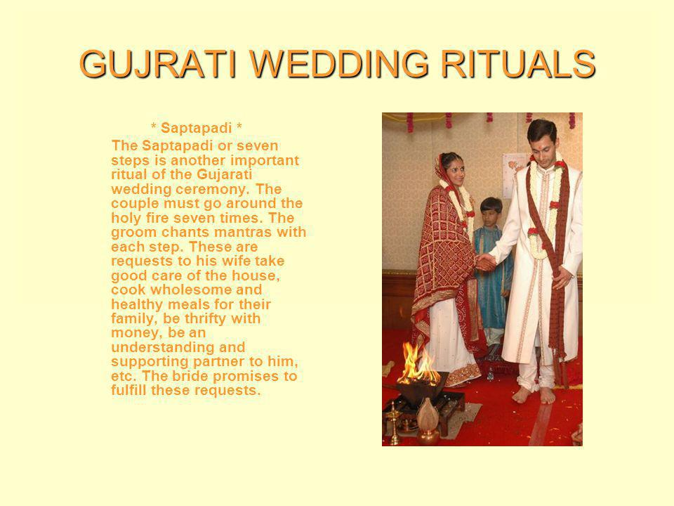 GUJRATI WEDDING RITUALS