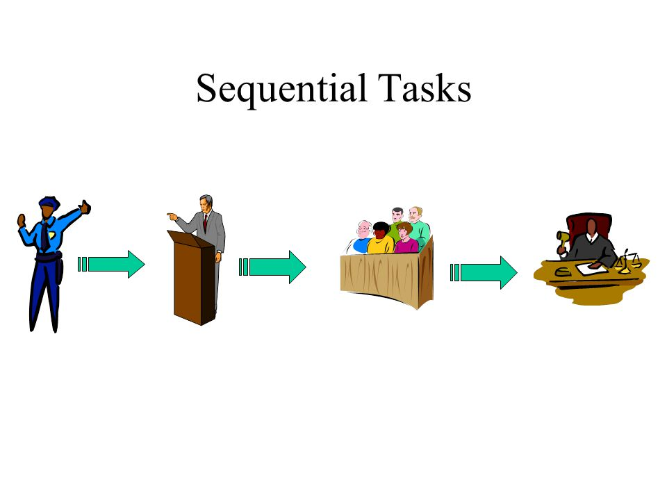Sequential Tasks