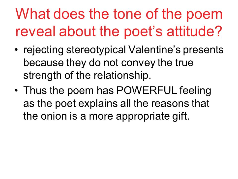 What does the tone of the poem reveal about the poet's attitude