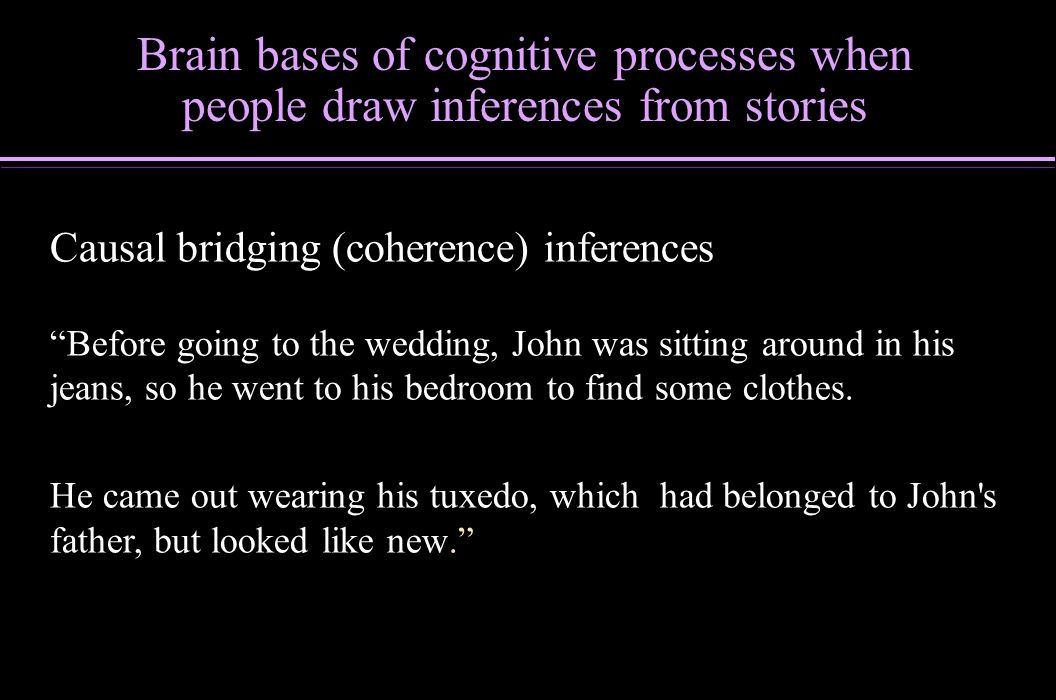 Brain bases of cognitive processes when