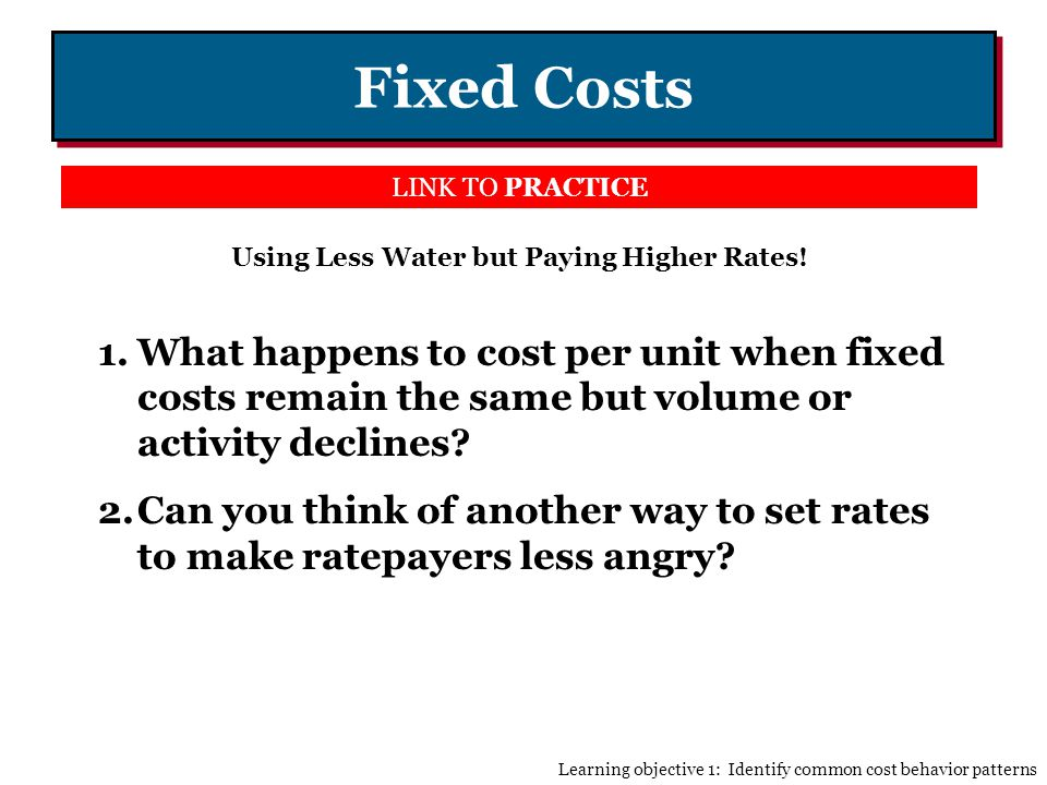 Using Less Water but Paying Higher Rates!