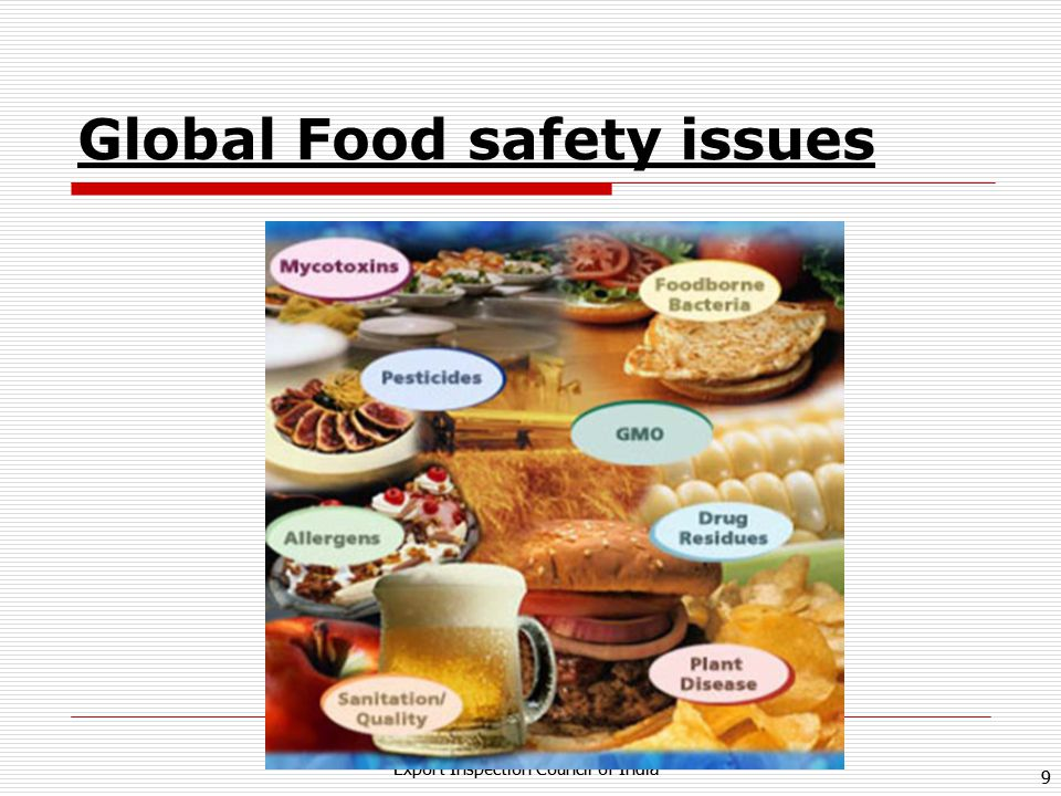 Global Food safety issues