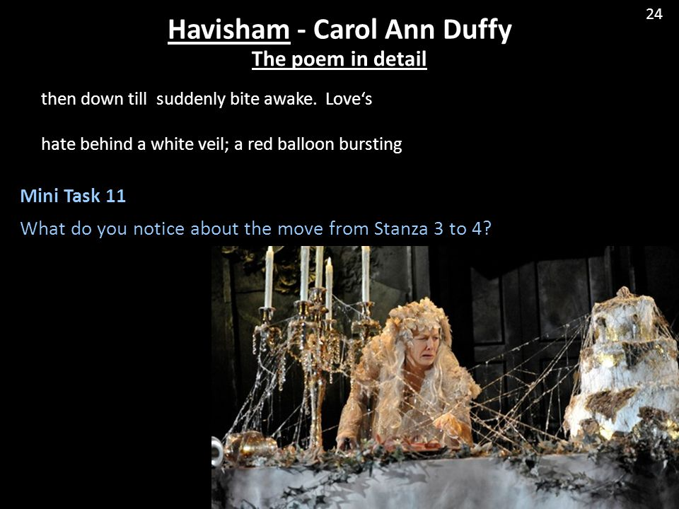 Havisham - Carol Ann Duffy