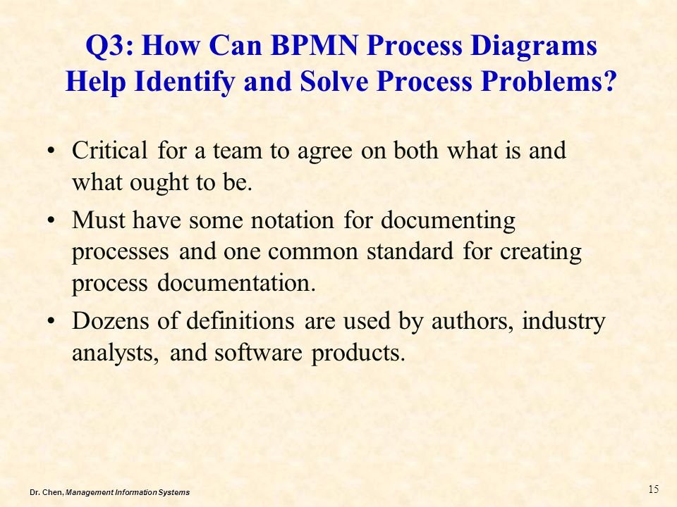 Q3: How Can BPMN Process Diagrams Help Identify and Solve Process Problems