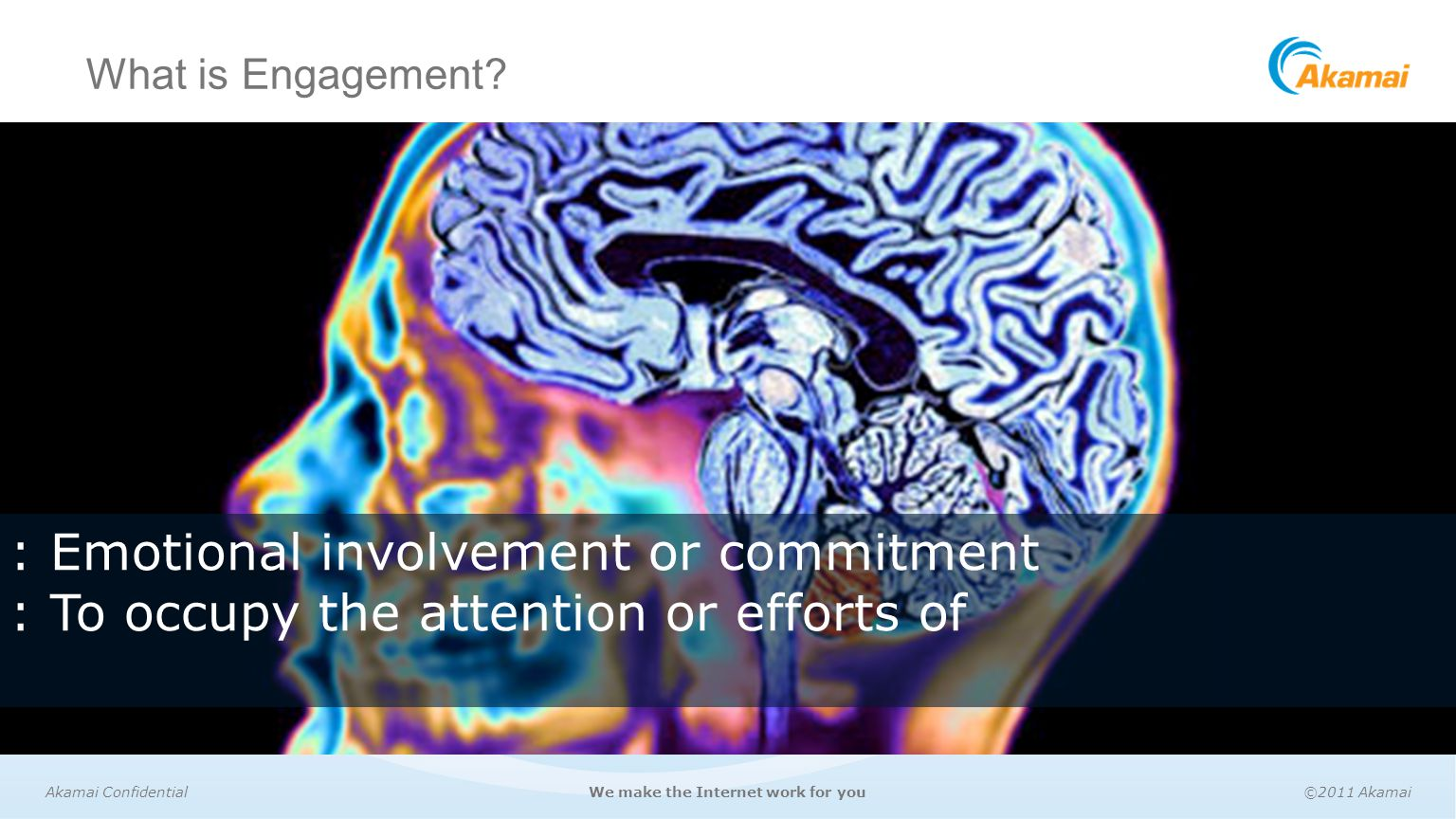 Akamai Media Analytics Driving Engagement Ppt Video Online Download Simple Brain Diagram For Kids Aofcom 3 Emotional Involvement Or Commitment