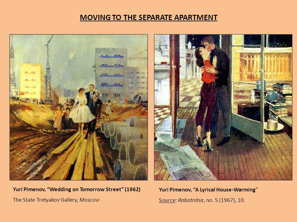 MOVING TO THE SEPARATE APARTMENT