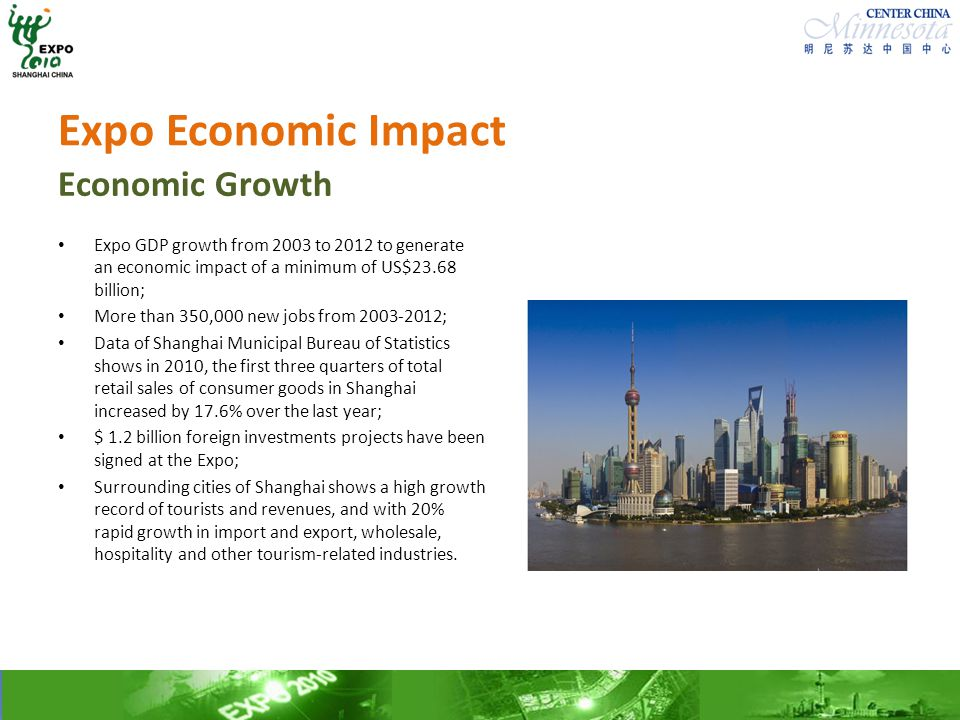 Expo Economic Impact Economic Growth