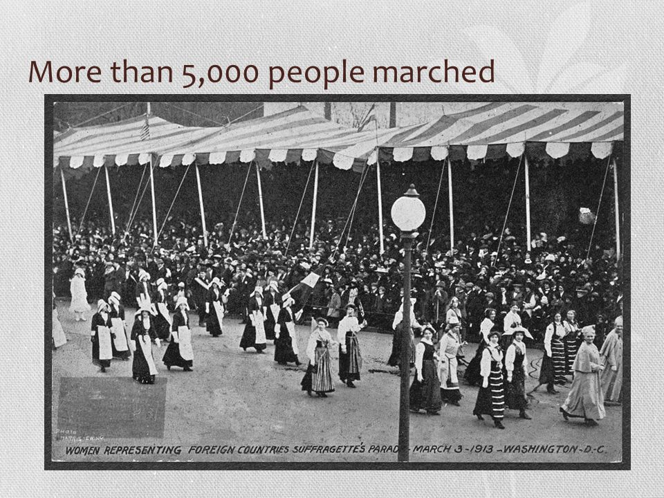 More than 5,000 people marched