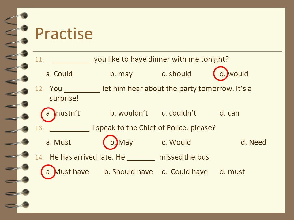 Practise __________ you like to have dinner with me tonight
