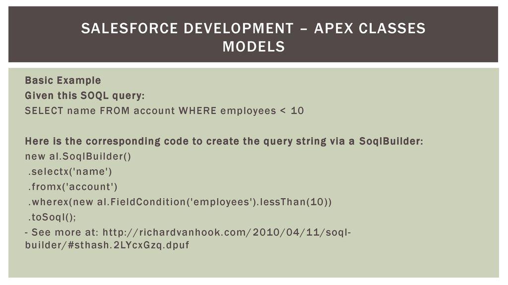 Salesforce Development - ppt download