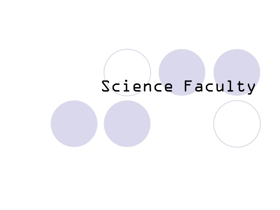 Science Faculty