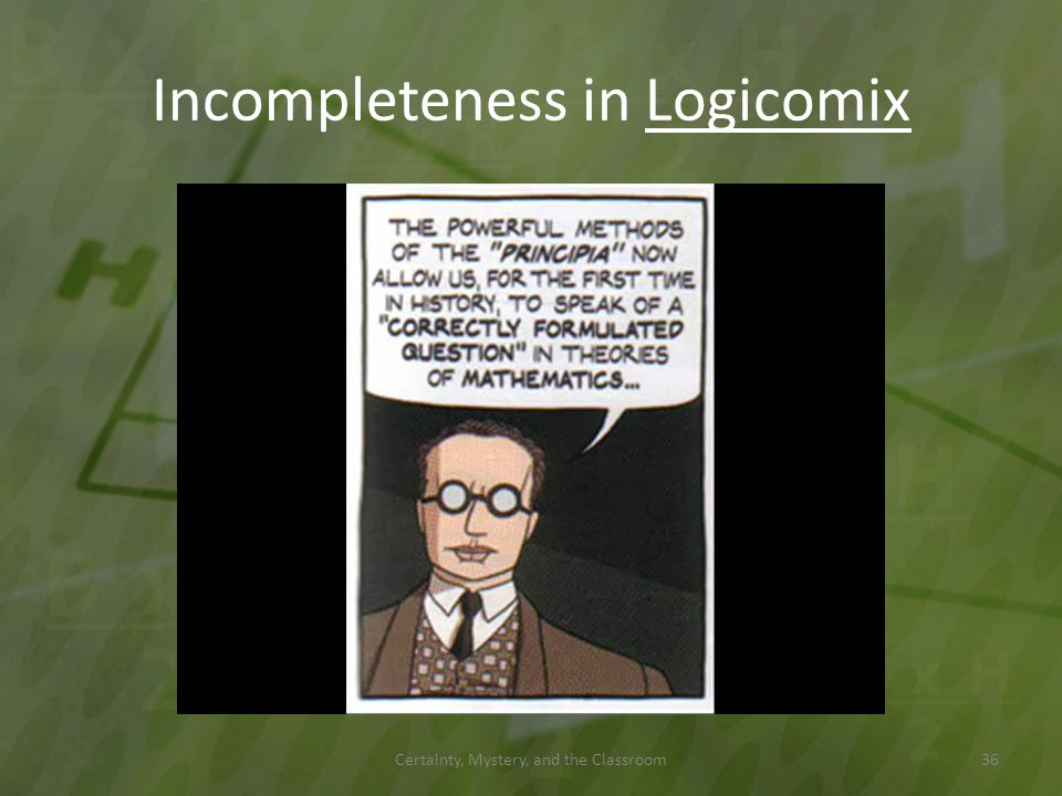 Incompleteness in Logicomix