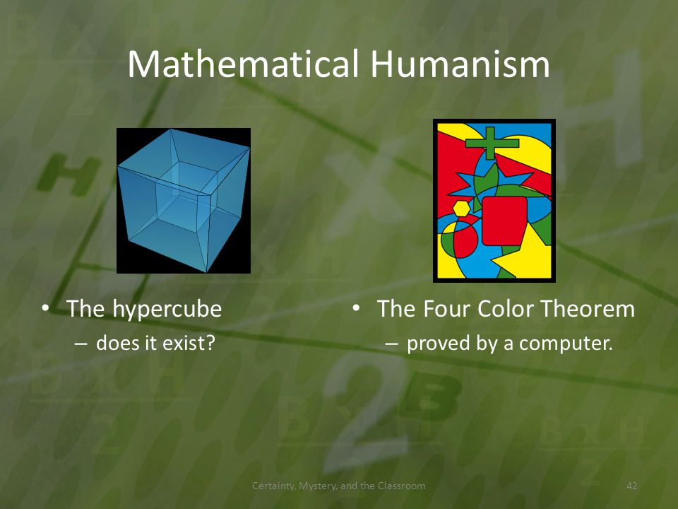 Mathematical Humanism