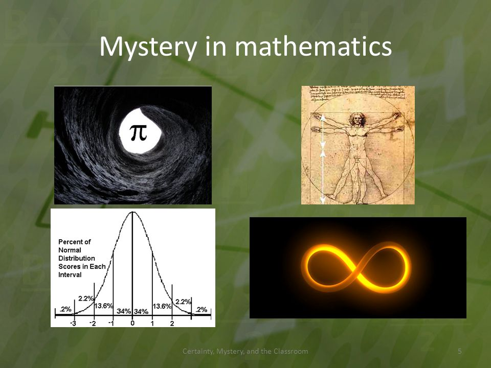 Mystery in mathematics