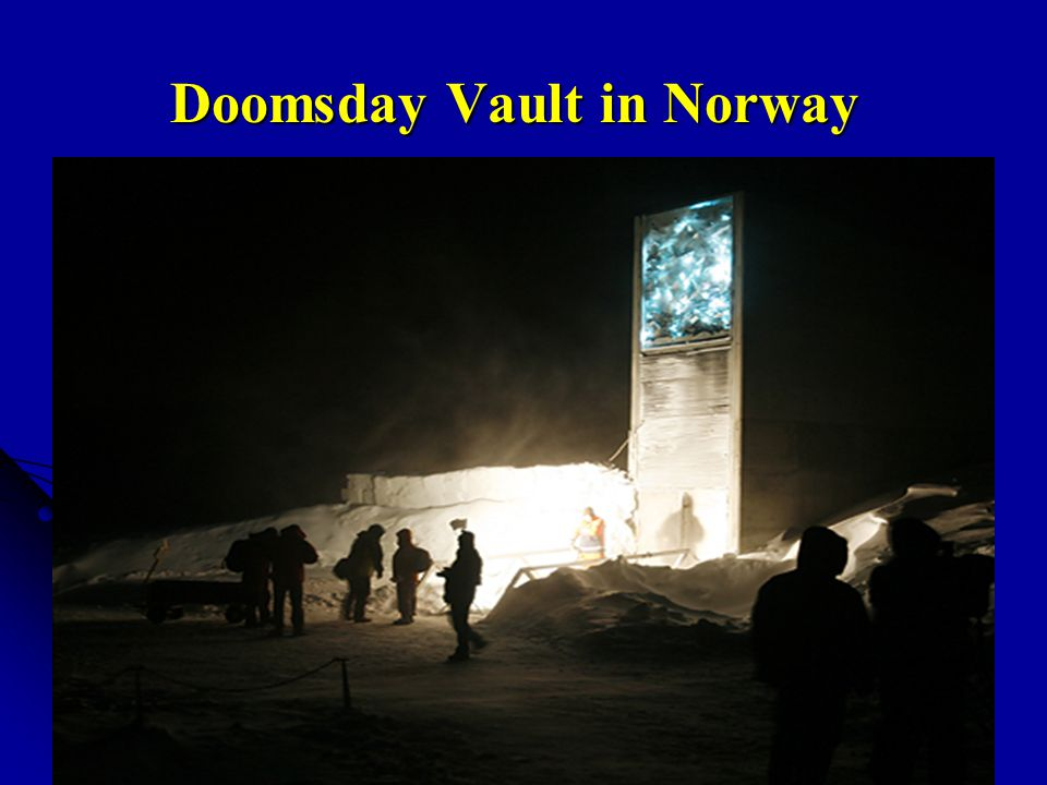 Doomsday Vault in Norway