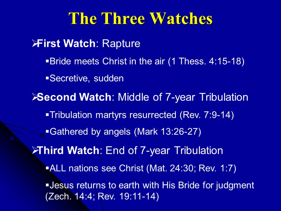 The Three Watches First Watch: Rapture