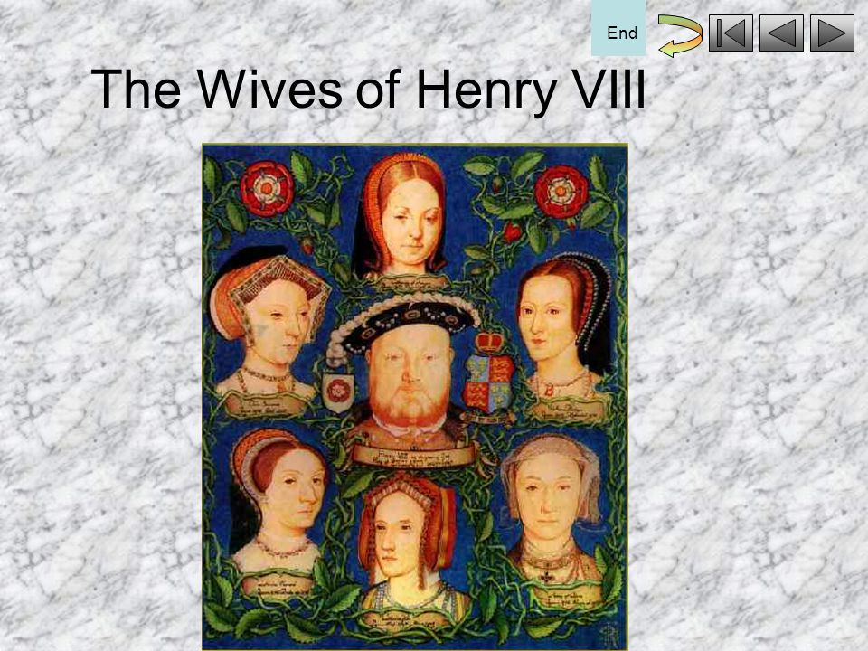 The Wives of Henry VIII End