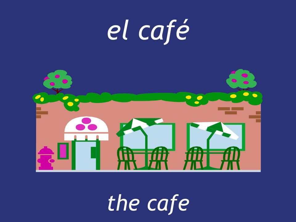 el café the cafe