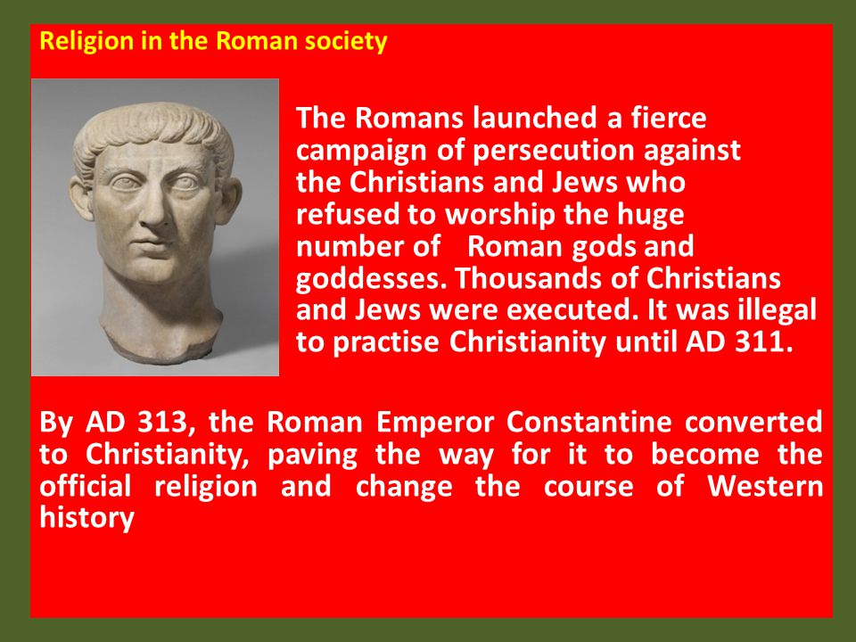Religion in the Roman society