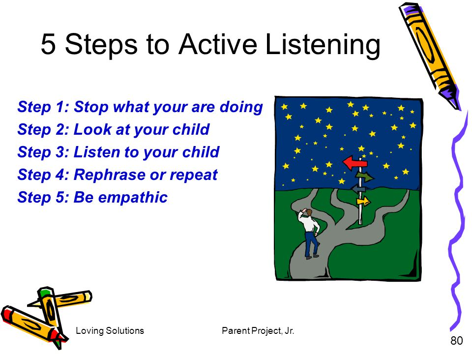 5 Steps to Active Listening