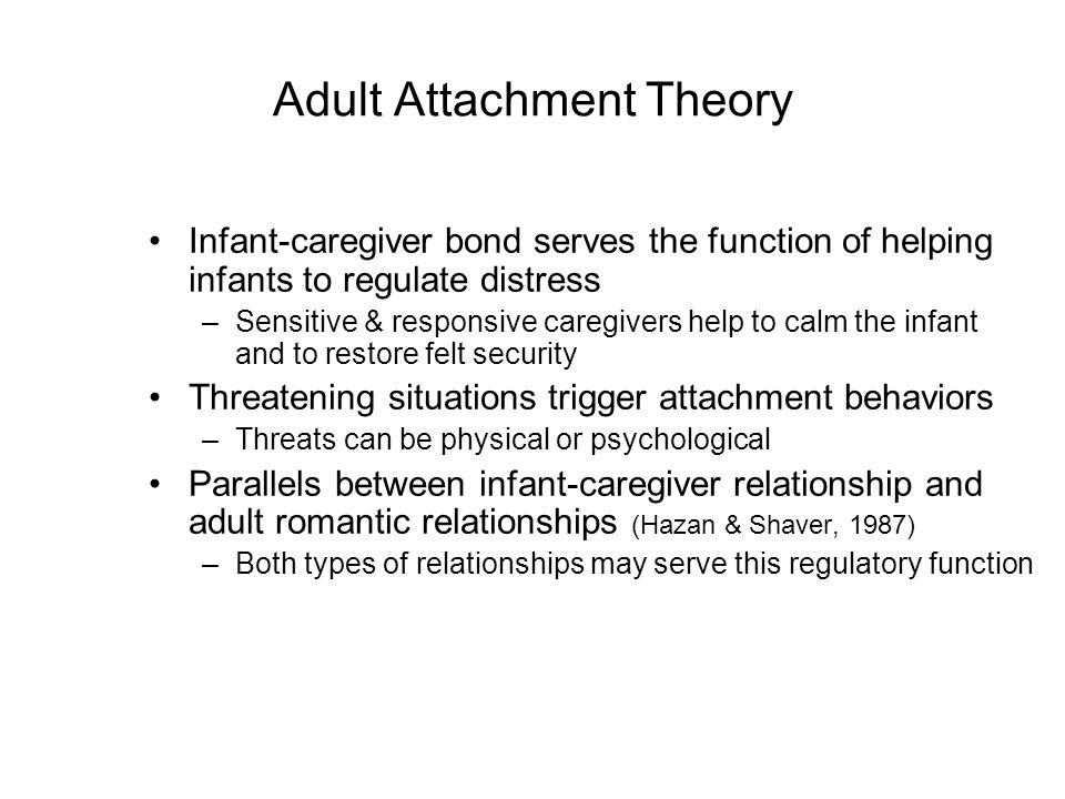 Attachment theory adult hazan and shaver — pic 13
