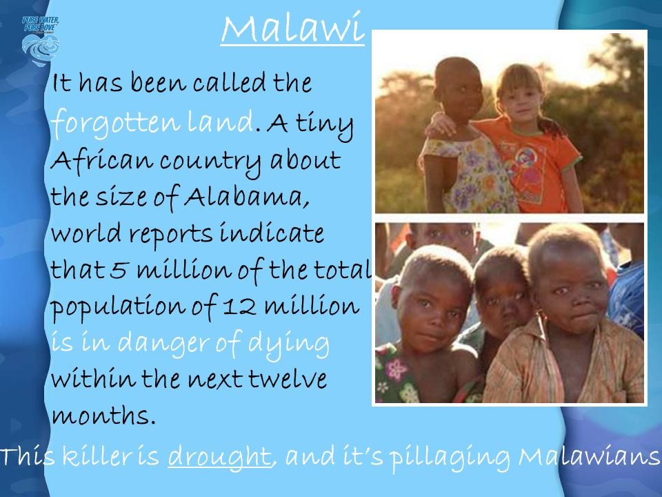 This killer is drought, and it's pillaging Malawians.