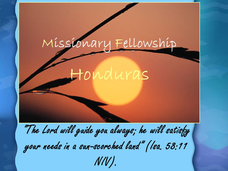 Missionary Fellowship