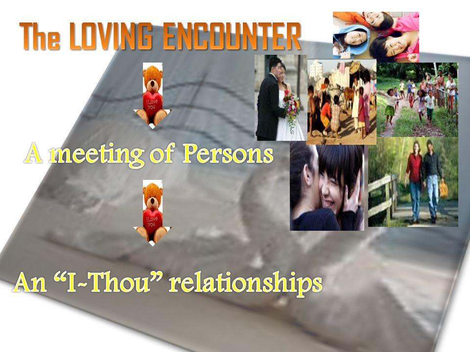 An I-Thou relationships