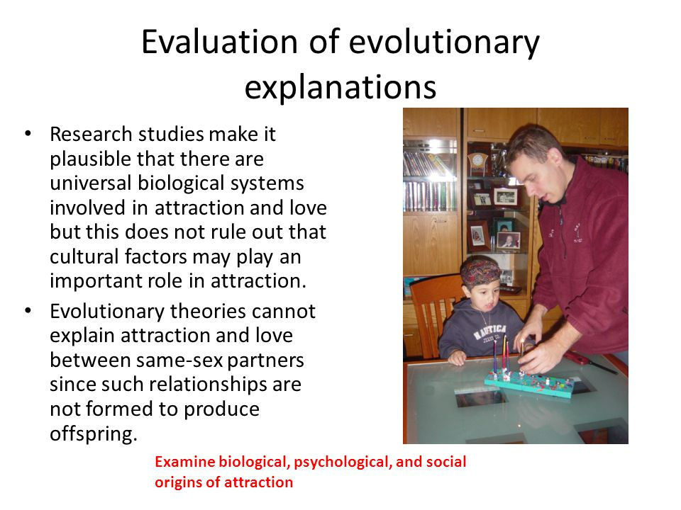 Evaluation of evolutionary explanations